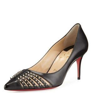 Louboutin Baretta heels 70mm